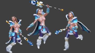 "Dota 2 ""Nude Mod Crystal Maiden"""