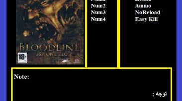 Bloodline: Трейнер/Trainer (+4) [1.0] {Abolfazl.k}