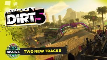 Новый геймплейный трейлер DIRT 5 с двумя бразильскими трассами