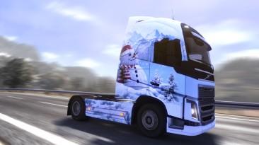 Патч Euro Truck Simulator 2 v1.8.2.3-1.8.2.5 + Ice Cold Paint Jobs DLC