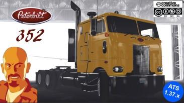 "American Truck Simulator ""Peterbilt 352 Reworked версия 1.2 (v1.37.x)"""