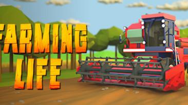 Состоялся релиз симулятора фермы Farming Life в Steam