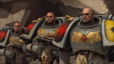 """Warhammer 40.000: Space Marine """"Grey Hunters of the Space Wolves"""""""