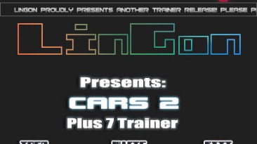 Cars 2 - The Video Game: Трейнер (+7) [1.0 - FIXED] {LinGon}
