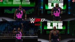 "WWE 2K17 ""Keith Lee '21 Наряд (Лицевая анимация) WWE 2K19 Порт Мод"""