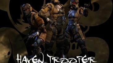 "XCOM 2 ""[WOTC] MGS4: Guns of the Patriots: Haven Trooper Armor"""