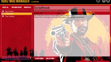 "Red Dead Redemption 2 ""Mod Manager"""