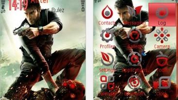 """Splinter Cell: Conviction """"Theme Nokia 240x320"""""""