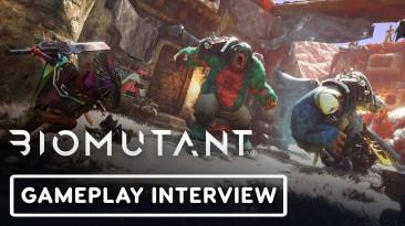 Новый геймплей Biomutant и интервью с разработчиками