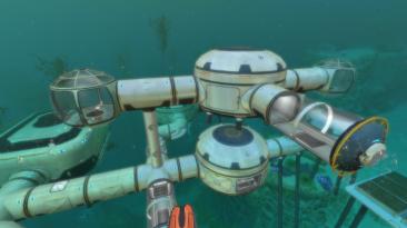 """Subnautica: Сохранение/SaveGame (1 Циклоп, 2 Мотылька, 1 Костюм """"Краб"""", 5000 едениц энергии)"""