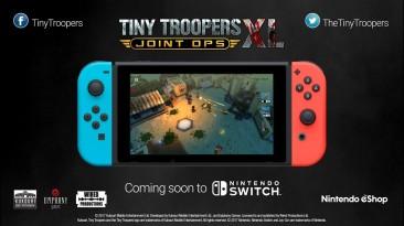 Изометрический боевик Tiny Troopers Joint Ops заглянет на Switch в конце этого года