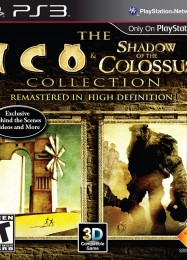 Обложка игры Ico and Shadow of the Colossus: The Collection