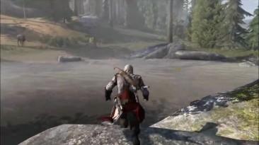 Assassin's Creed 3 - Какие тайны скрывает форт уолкотт - старый заброшенный форт!