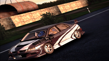 "Crashday ""Фикс для Mitsubishi Lancer Evolution VIII"""