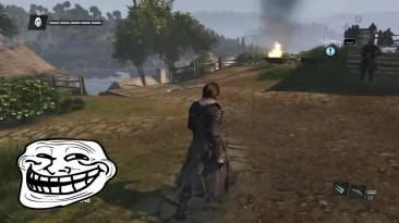 """Assassin's Creed: Rogue """"Баги, Приколы, Фейлы"""""""