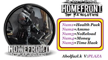 Homefront: The Revolution - Beyond the Walls: Трейнер/Trainer (+5) [781464] {Abolfazl.k}