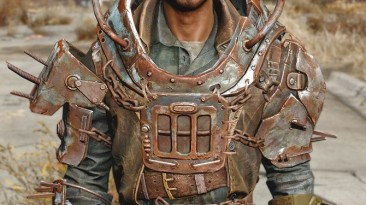 """Fallout 4 """"HD Vanilla Armor"""""""