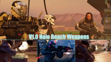 "XCOM 2 ""Nigel Reach Weapons / Оружие из Halo Reach(Русифицирован)"""
