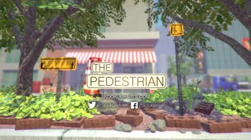 The Pedestrian - сайд-скроллер с дорожными знаками