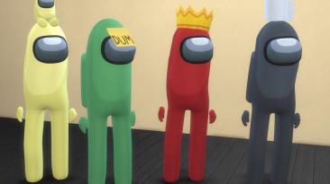 """The Sims 4 """"Облики из Among Us"""""""
