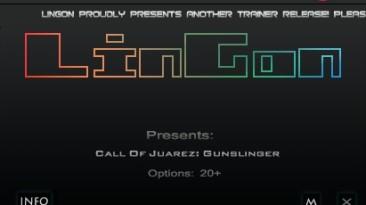 Call of Juarez ~ Gunslinger: Трейнер/Trainer (+20) [1.03] {LinGon}