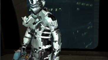 """Dead Space 2 """"white elite advanced suit mode"""""""