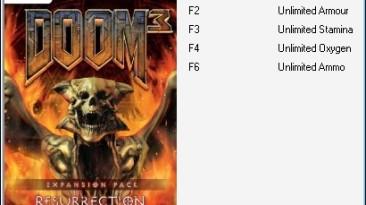 Doom 3 - Resurrection Of Evil: Трейнер (+5) [1.3.1] {HonestGamer}
