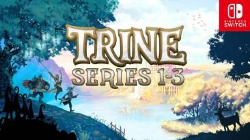 Frozenbyte анонсировали релиз второй части и физическое издание трилогии Trine для Nintendo Switch