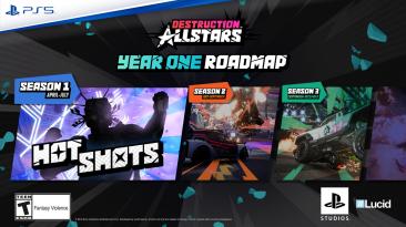 Разработчики Destruction AllStars представили планы первого сезона игры