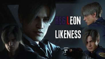 "Resident Evil 2 ""Лицо Леона из RE6"""