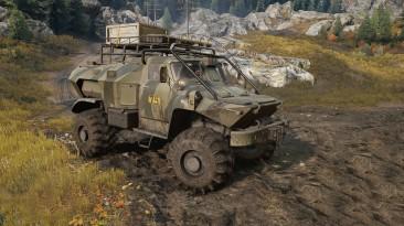 "SnowRunner ""BTR-GAZ 8053"""