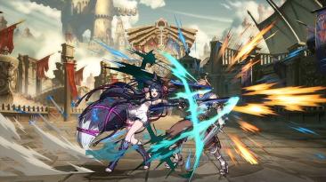 Новые скриншоты Granblue Fantasy Versus, показывающие нового персонажа Юэль в действии
