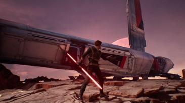 "Star Wars Jedi: Fallen Order ""Green to Red Lightsaber"""