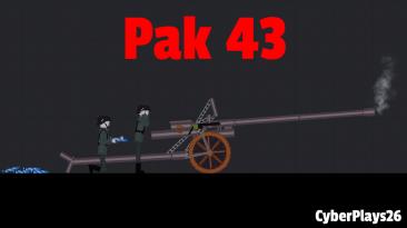 "People Playground ""Pak 43 - Немецкая Противотанковая пушка"""