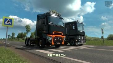 ETS2 - Сравнение Renault Range T и Magnum Старый и Новый(520HP vs 520HP)