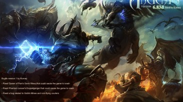 """Warcraft 3 """"DotA v6.83d RB-v1 Fixed [Korney]"""""""