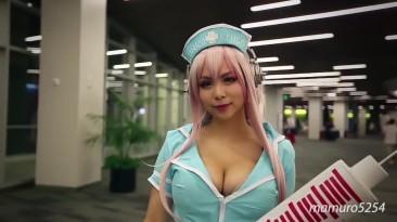 Секси косплеерши с игровых выставок