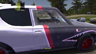 """My Summer Car """"Shark Покраска для SATSUMA''"""