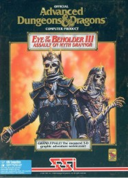 Обложка игры Eye of the Beholder 3: Assault on Myth Drannor