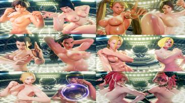 "Street Fighter V CES 5 ""Сборка (пак) нуд. модов 12 в одном + бонус V18-21"""