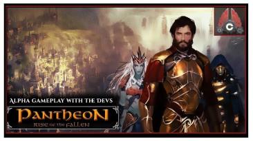 Геймплей Pantheon: Rise of the Fallen - MMORPG, которая уже 6 лет находится в разработке