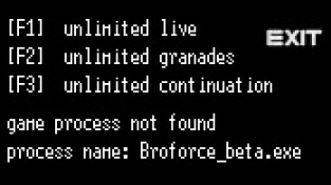 Broforce: Трейнер/Trainer (+3) [steam date 31.07.2018] {LIRW / GHL}