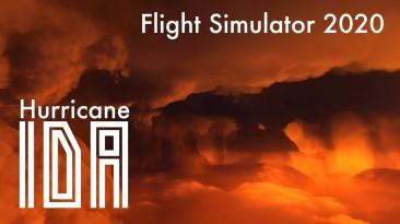 """Игроки используют Microsoft Flight Simulator, чтобы пролететь через ураган """"Ида"""" в реальном времени"""
