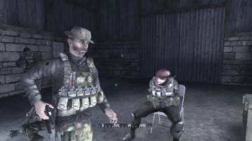 [Modern Warfare 1 на Nintendo Wii] Божественный ломанный русский и собаки!