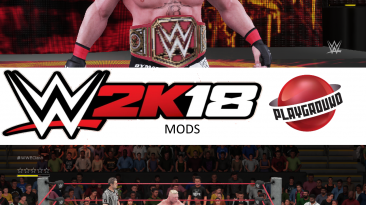 "WWE 2K18 ""Brock Lesnar + 9 Attire Pack MOD"""
