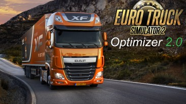 "Euro Truck Simulator 2 ""Optimizer 2.0 - Повышение FPS"