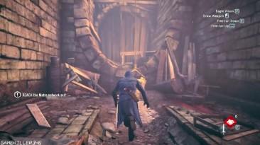 Геймплей Assassin's Creed Unity на максимальных настройках