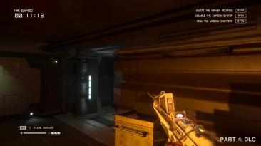 7 минут игрового процесса Alien: Isolation с Nintendo Switch