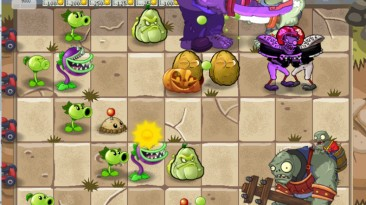 """Plants vs zombies """"Пак 2 бета 6.20.3 хардкор обновления """""""