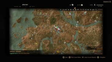 The Witcher 3: Wild Hunt / Ведьмак 3: Дикая Охота: Чит-Мод/Cheat-Mode (Все Цели на Карте / All Quest Objectives On Map 1.11)